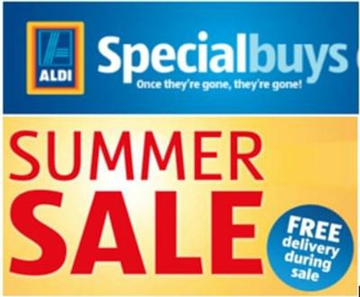 BARGAINS GALORE! Aldi Special Buys SALE + FREE DELIVERY. Rummage!