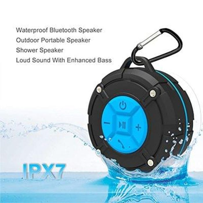 Outdoor Bluetooth Speakers,Wireless Portable IPX7 Waterproof Speaker