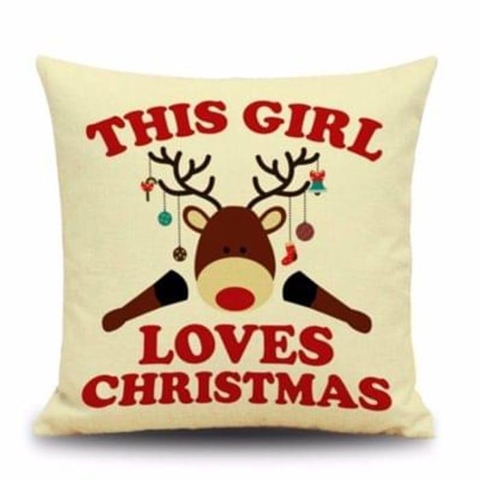 Decorative Christmas Cushion Covers