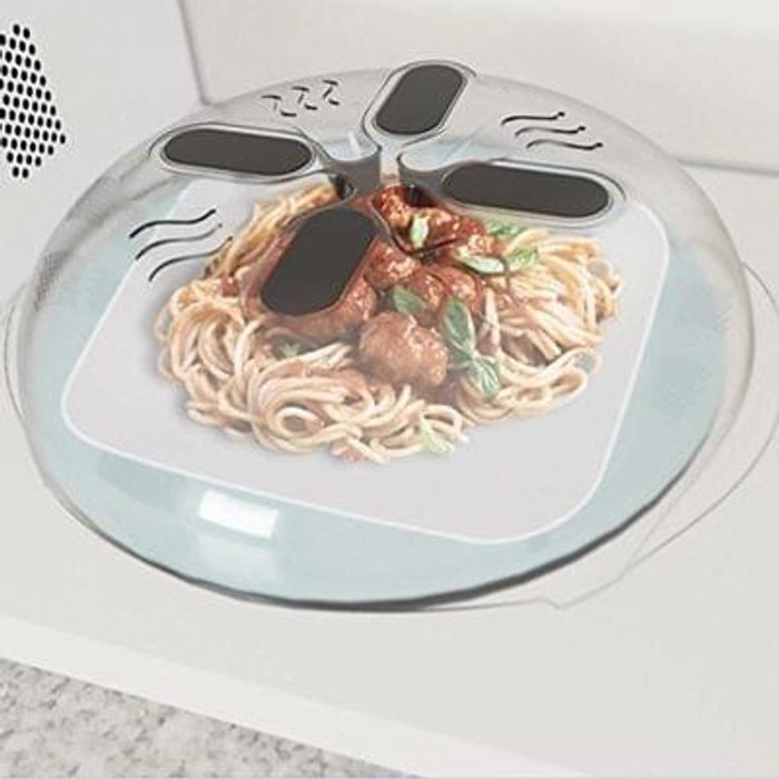 Magnetic Food Splatter Guard,Microwave *BACK IN STOCK* Save £5.10 Delivery £0.25