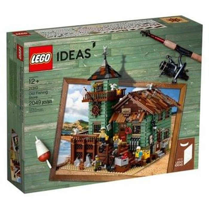Buy LEGO IDEAS 21310 Old Fishing Store at Lego Shop. THE BIGGEST IDEAS SET EVER!