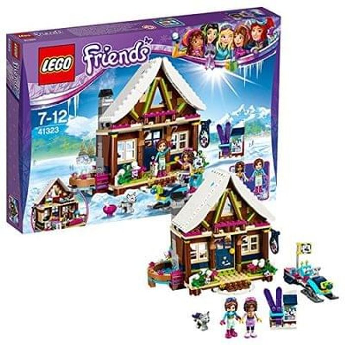 NEW LEGO Friends 41323 Snow Resort Chalet. Just £28.99 at Amazon! SAVE £11 !