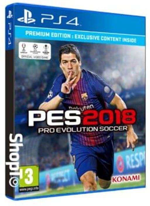 PES 2018: Pro Evolution Soccer - The Premium Edition PS4. GOOD PRICE!
