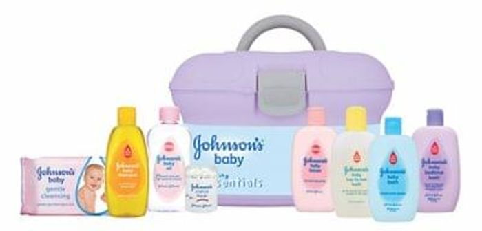 Johnson's® Baby Skincare Essentials Gift Box GREATLY REDUCED AT MOTHERCARE