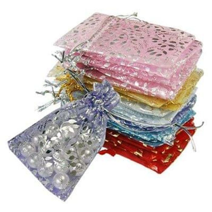 25 x Organza Wedding Favor Gift Bags 45p free delivery