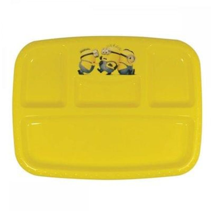 Minions 4 Section Plate