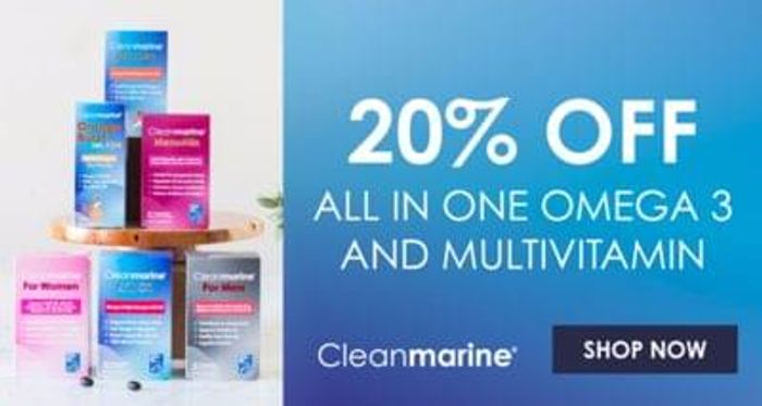 Bodykind - 20% off Cleanmarine range