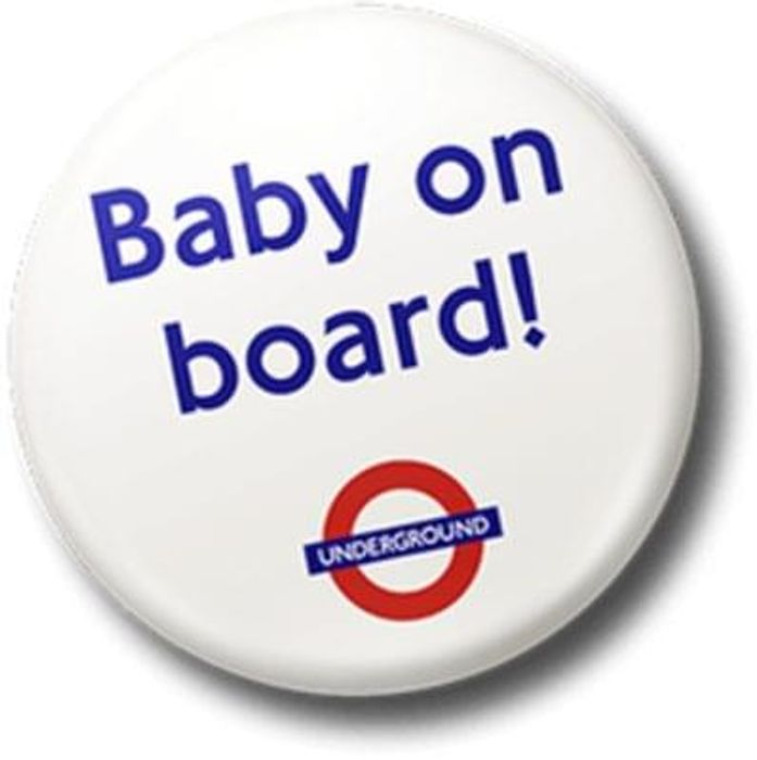 Baby on board - Order your badge here
