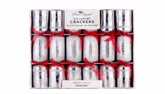 Luxury Christmas Crackers with Swarovski Crystals