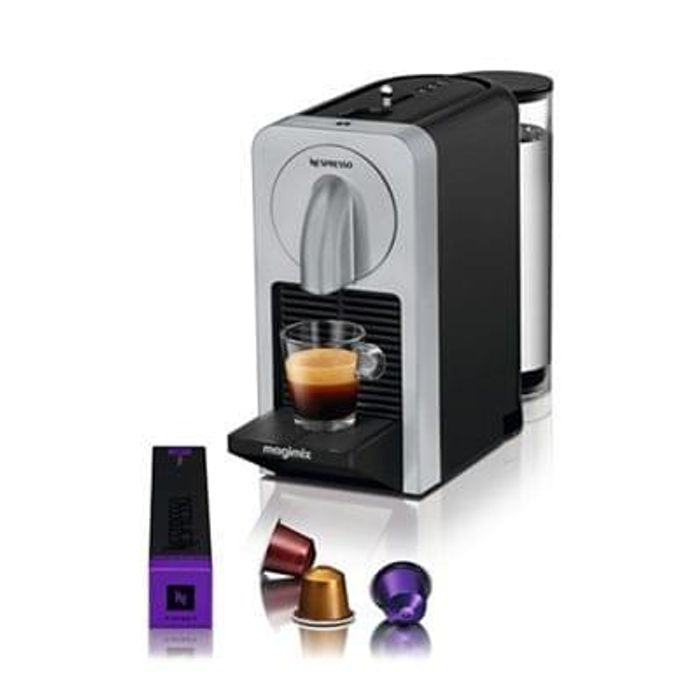 Nespresso Silver Prodigio Coffee Machine Half Price