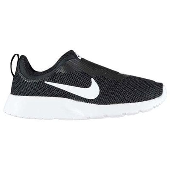 7d73f732e28a43 Nike Tanjun Slip On Ladies Trainers (black only)
