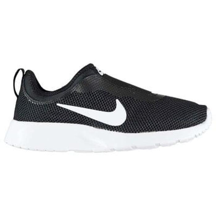 56638f4b1645 Nike Tanjun Slip On Ladies Trainers (black only)