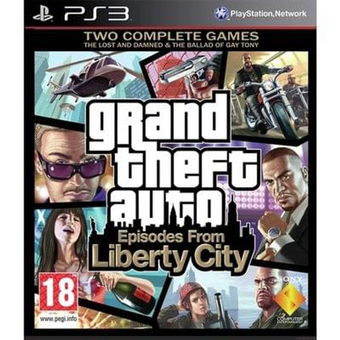 Argos clearance GTA liberty city PS3 game
