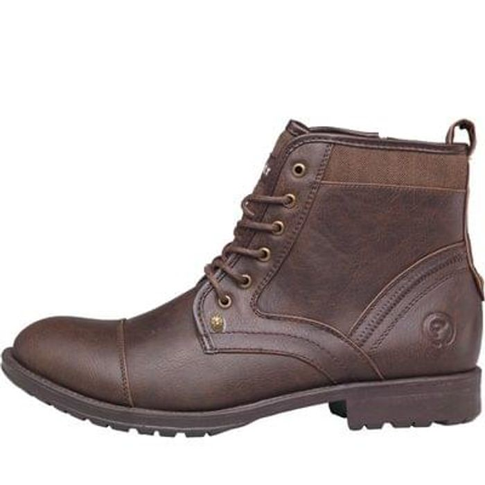 11683236b62 Firetrap men's bouncer worker boots brown, £19.99 at MandM Direct ...