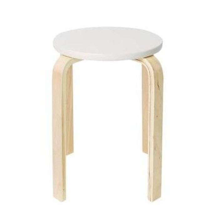 Admirable Cream Wooden Stacking Stool Half Price Free Cc 5 At Theyellowbook Wood Chair Design Ideas Theyellowbookinfo