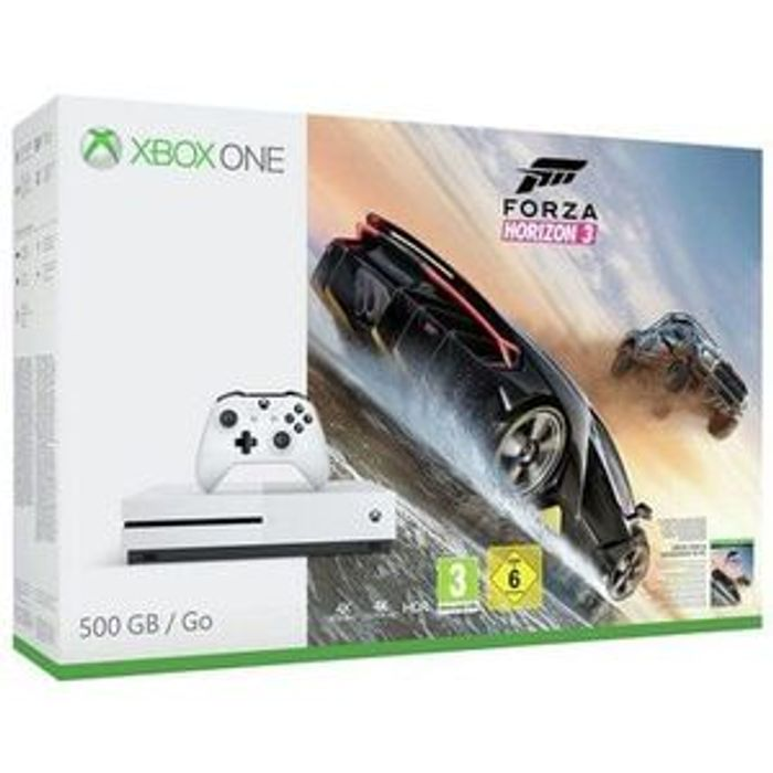Lowest Price Xbox One S 500GB Console with Forza Horizon 3 Bundle