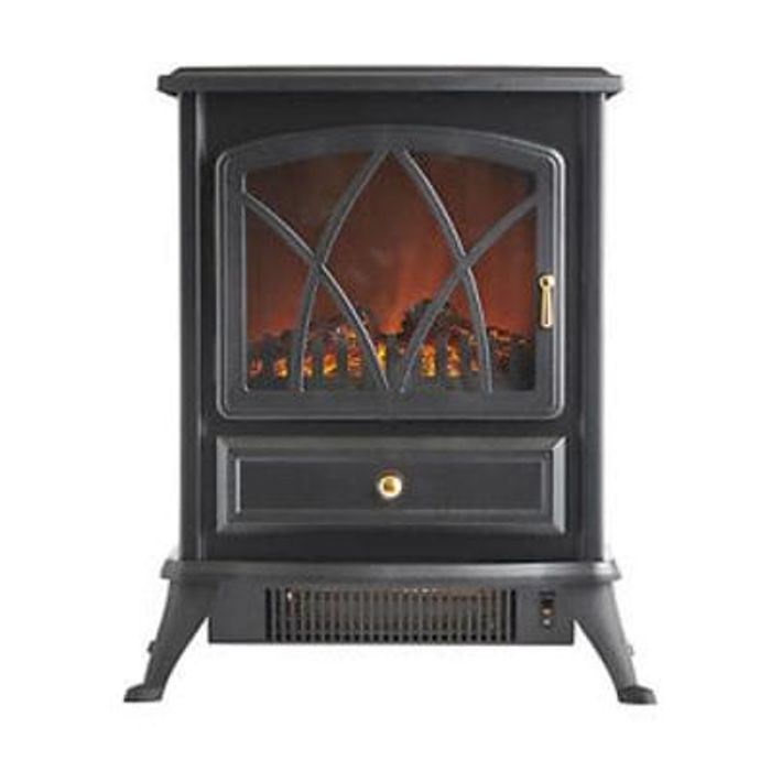 Sensational Vonhaus 1850W Portable Electric Stove Heater Log Burning Download Free Architecture Designs Parabritishbridgeorg