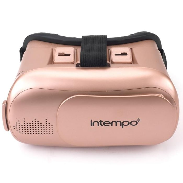 VR headset at B&M Bargains available in Rose Gold, Black or