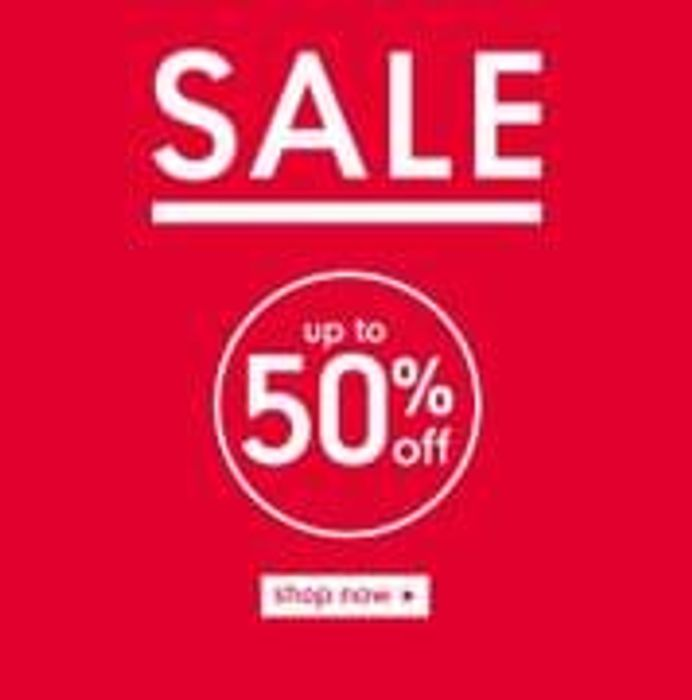 Mothercare 50% Sale Online & In-Store