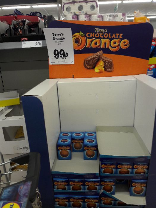 Terrys Chocolate Orange 099 At Lidl Offers Latestdeals