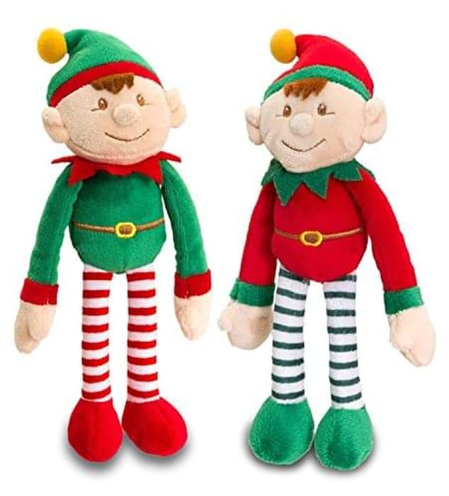 Keel Toys Dangly Christmas Elf 12cm
