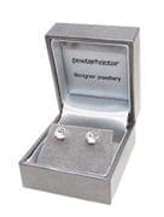 pewterhooter 925 Sterling Silver stud earrings
