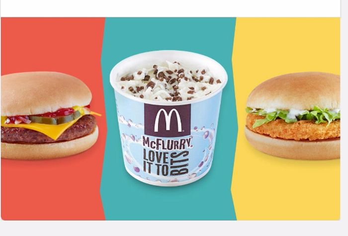 McDonald's free food with your Student ID