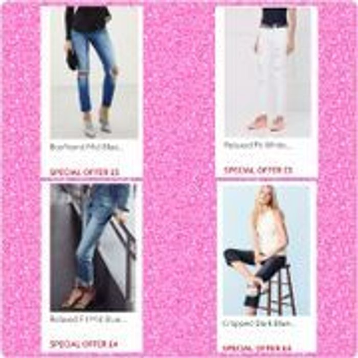 Next ladies jeans from just £4
