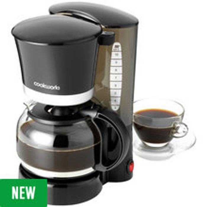 Cookworks Filter Coffee Maker Black Free Cc 1249 At