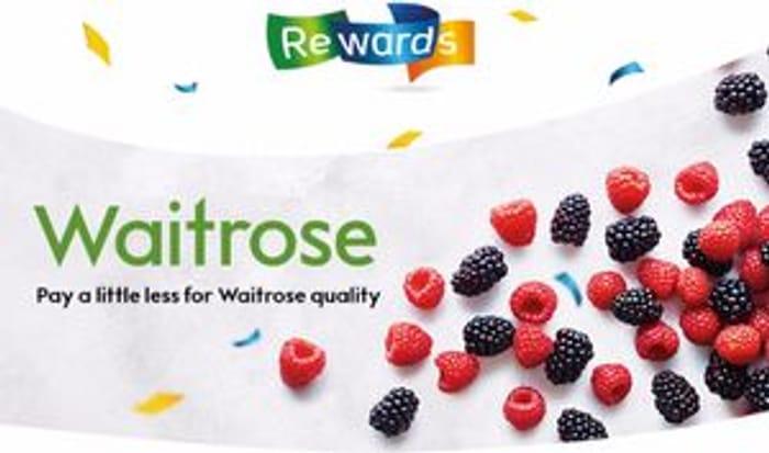 10% off discount card at Waitrose via British Gas Rewards