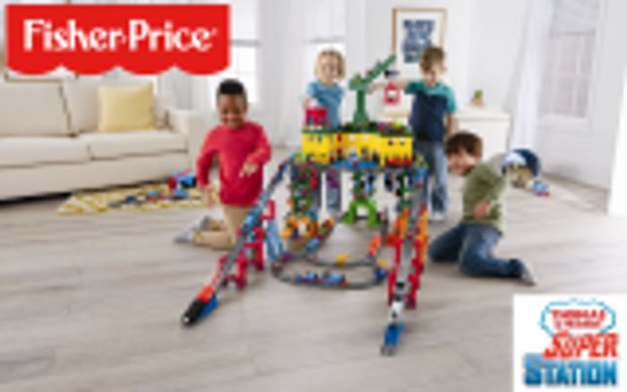 Win a thomas the tank super station