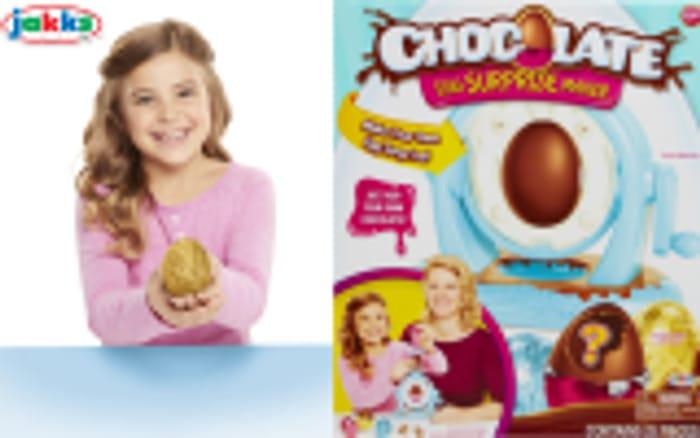 Win a chocolate egg maker