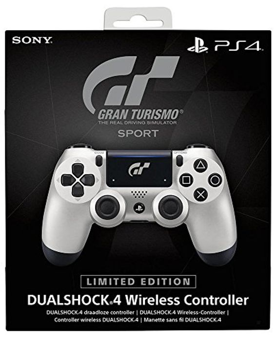 PS4 Limited Edition DS4 Controller GT Sport Edition - Release 18th October