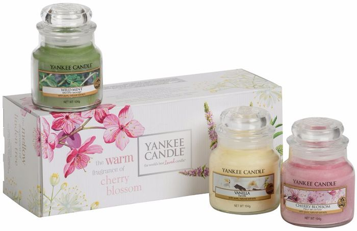 Yankee Candle * Pure Essence 3 Jars Gift Set