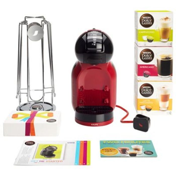 Nescafe Dolce Gusto Mini Me Red And Black Bundle 45 At