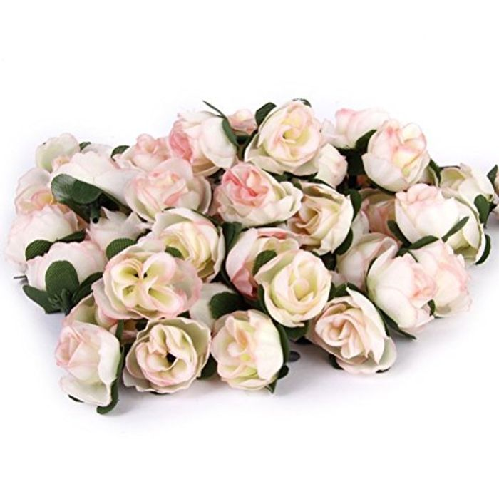 Beautiful Bunch Of Fake Roses Large Discount