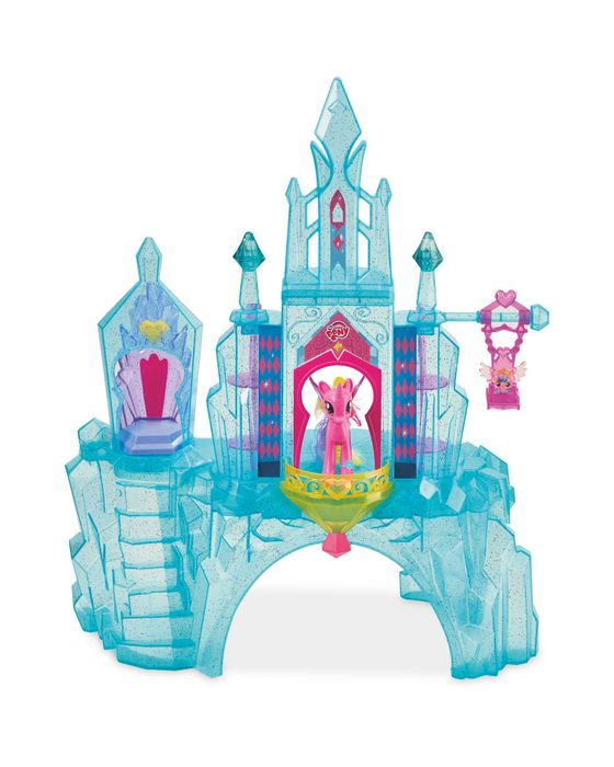 My Little Pony Crystal Empire Play House Castle Kids Playset Rotating Light-up
