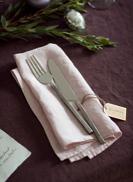 WIN a Tablecloth and 8 Napkins from The Linen Works worth £193!