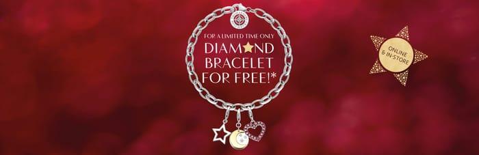 Spend £149 AT THOMASSABO AND RECIEVE A DIAMOND BRACELET