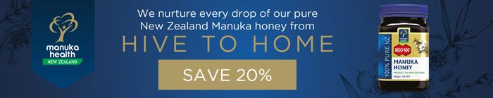 BigGreenSmile - 20% off Manuka Health