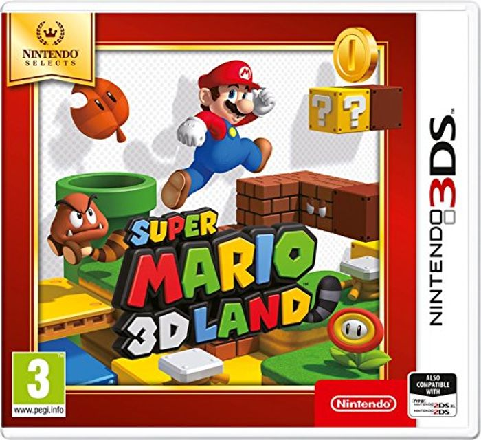 Mario 3d land for the 3ds. Cheapest I've found.