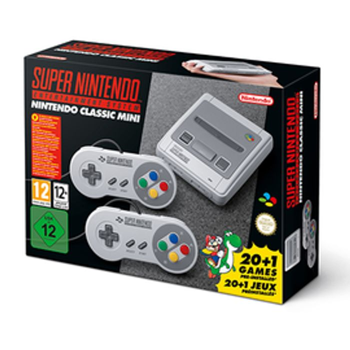 Hurry In Stock Today SNES Classic Mini - £79.99 + Free Delivery