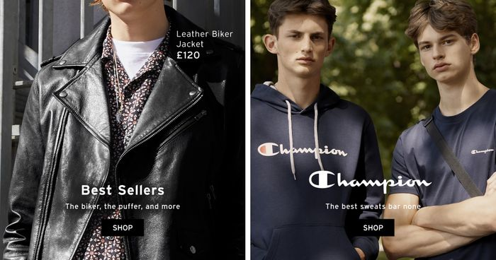 20% off all Topman orders today!