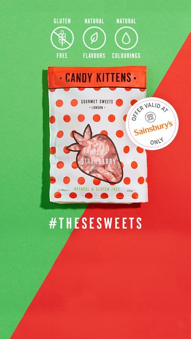 Free Bag of Candy Kitten Sweets