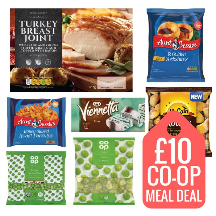 New Co-Op Christmas Frozen Meal Deal (Wednesday)