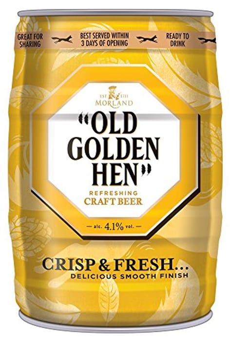 Old Golden Hen Mini 5 Litre Keg