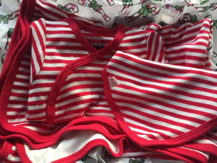 Half Price Bamboo Babywear Christmas Gift Box