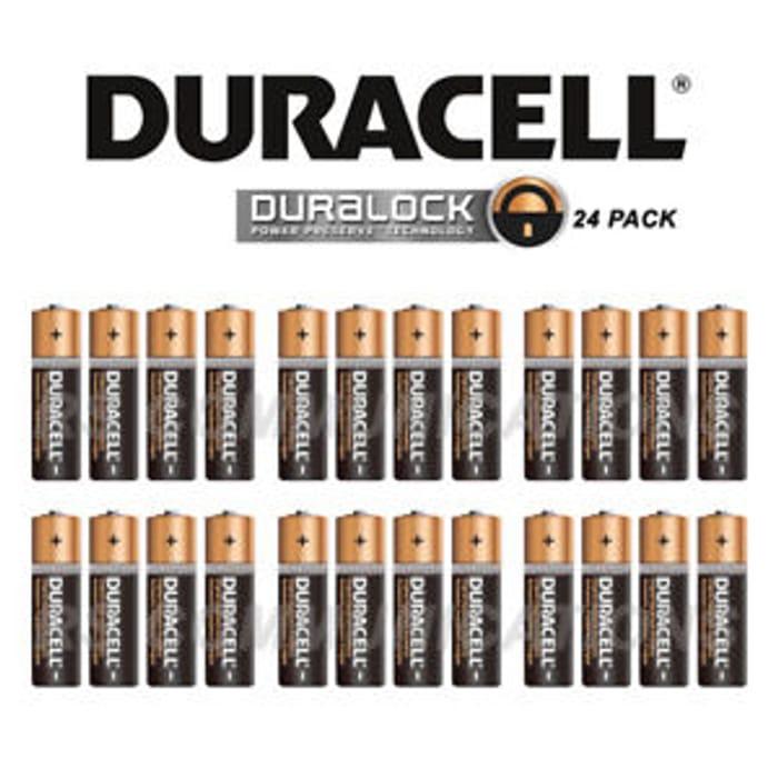 24 Duracell AA Batteries