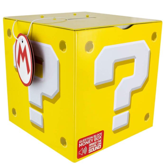 Super Mario Question Block Money Box「Licensed by Nintendo, Produced by Paladone」