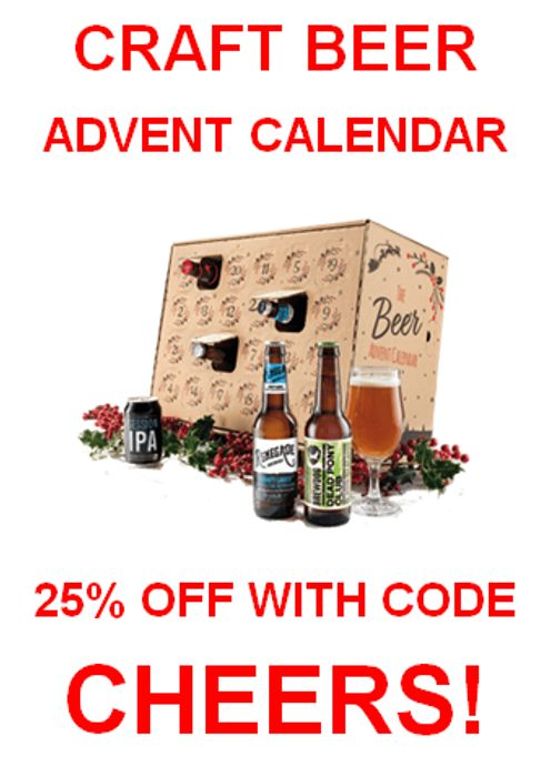 25% off Craft Beer Advent Calendar at Laithwaites! Here's How